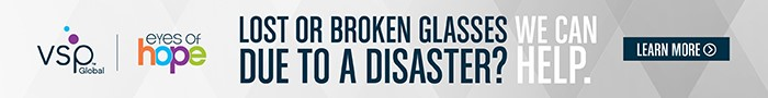 Lost or broken glasses due to a disaster? We can help. Learn more